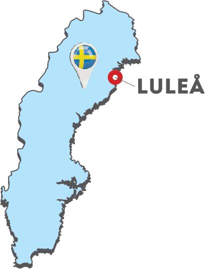 Lulea-Map