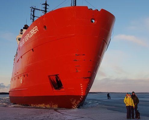 Icebreaker Luleå ijs