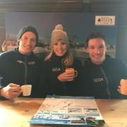 Annette Gerritsen schaatsenlulea zweeds lapland