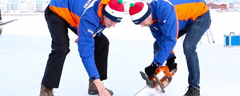 IJszagen zweden schaatsen