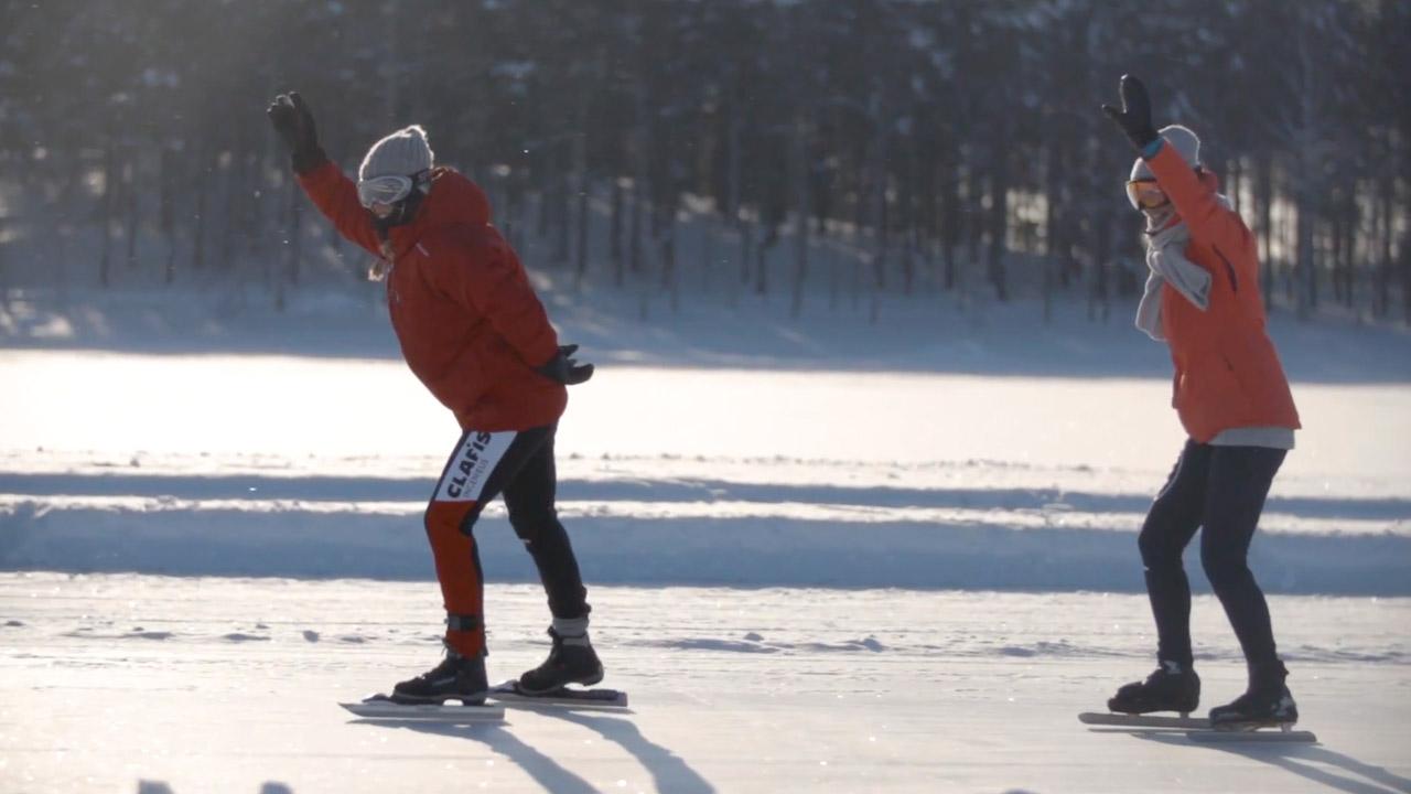 Fika tijd #6 - Toertocht - Schaatsen Luleå 2018