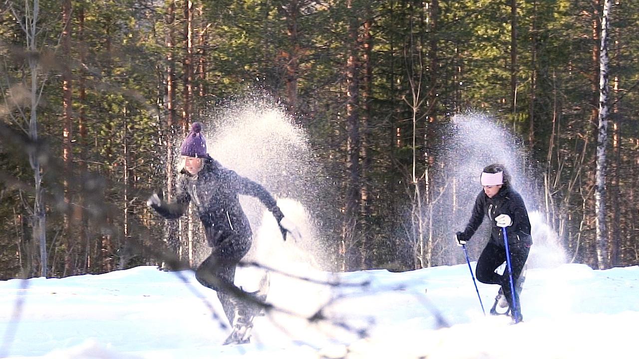 Fika Challenge #1 - Snowshoe Race - Schaatsen Luleå 2019