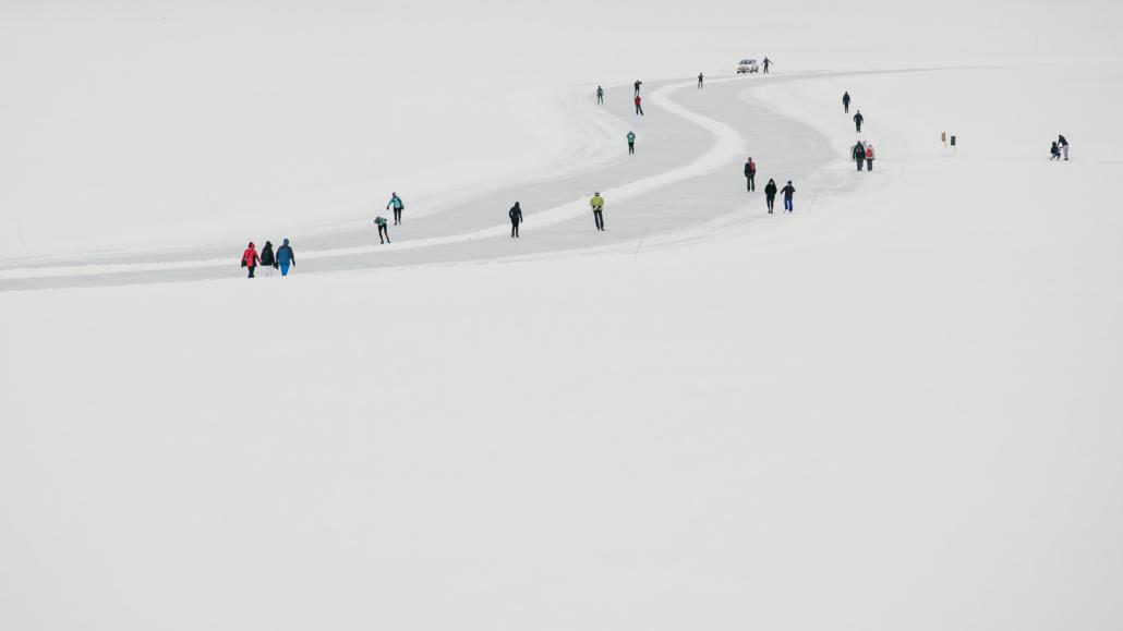 Toertocht Schaatsen 2020 Zweden